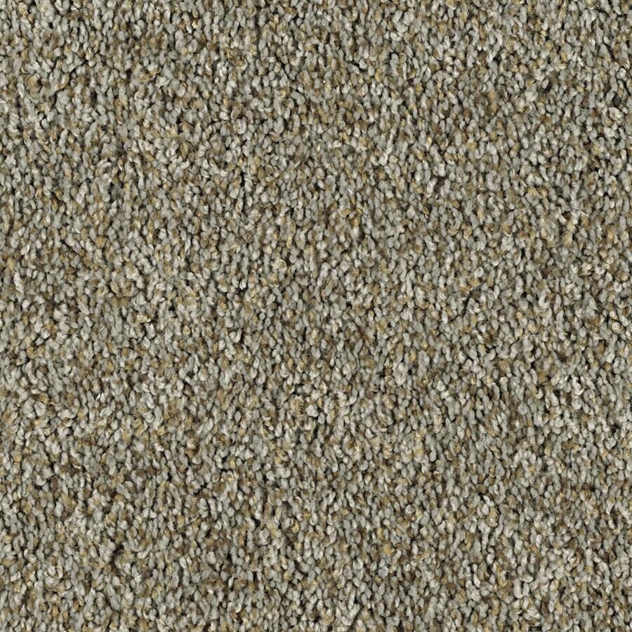 Shaw Essentials Soft and Cozy II - T Brushed Nickel Textured Indoor Carpet
