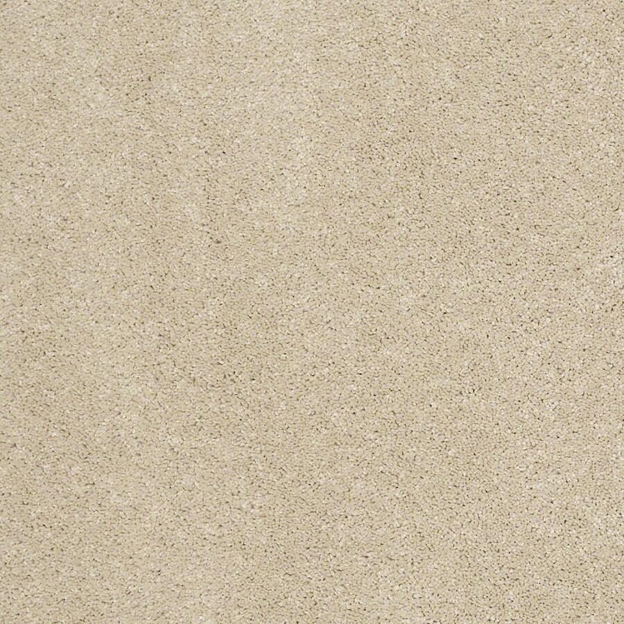STAINMASTER TruSoft Luscious IV (S) Sandstone Textured Indoor Carpet