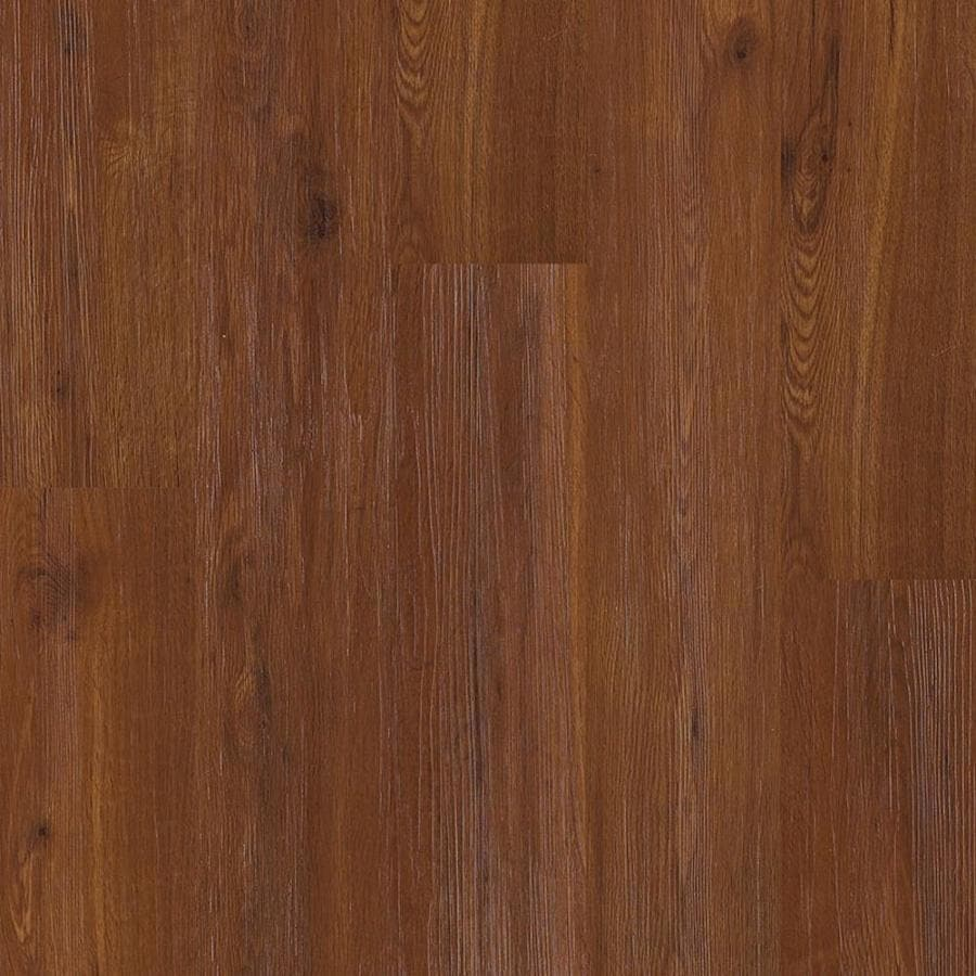 Shaw Matrix 14-Piece 5.9-in x 48-in Regency Gunstock Floating Oak Luxury Residential Vinyl Plank