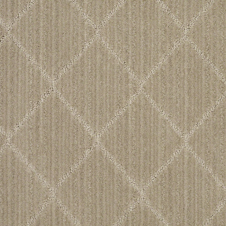 STAINMASTER Active Family Cross Creek Chamomile Berber Indoor Carpet