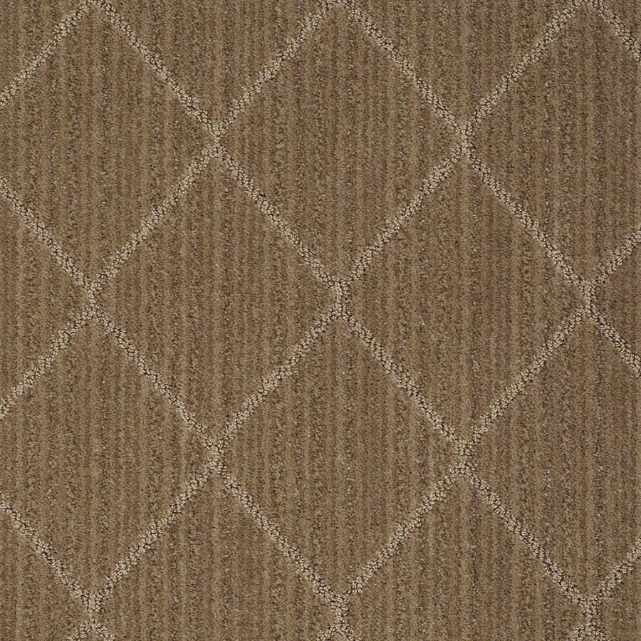 STAINMASTER Active Family Cross Creek Gingersnap Berber Indoor Carpet