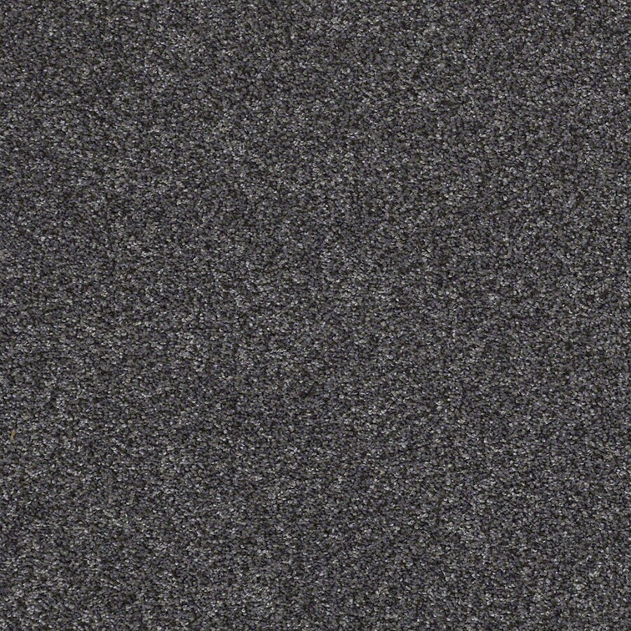 STAINMASTER Essentials Stone Mountain I Vintage Lapis Textured Indoor Carpet