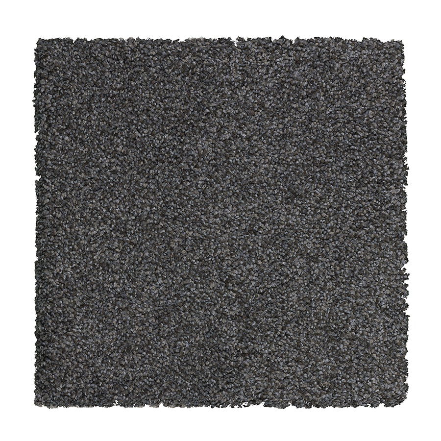 STAINMASTER Essentials Stone Peak I Vintage Lapis Textured Indoor Carpet