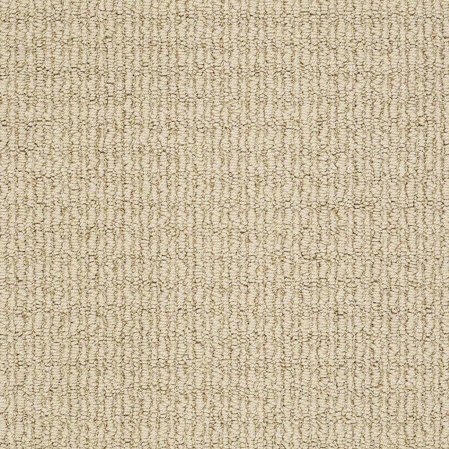 STAINMASTER TruSoft Uneqivocal Sunkissed Berber Indoor Carpet