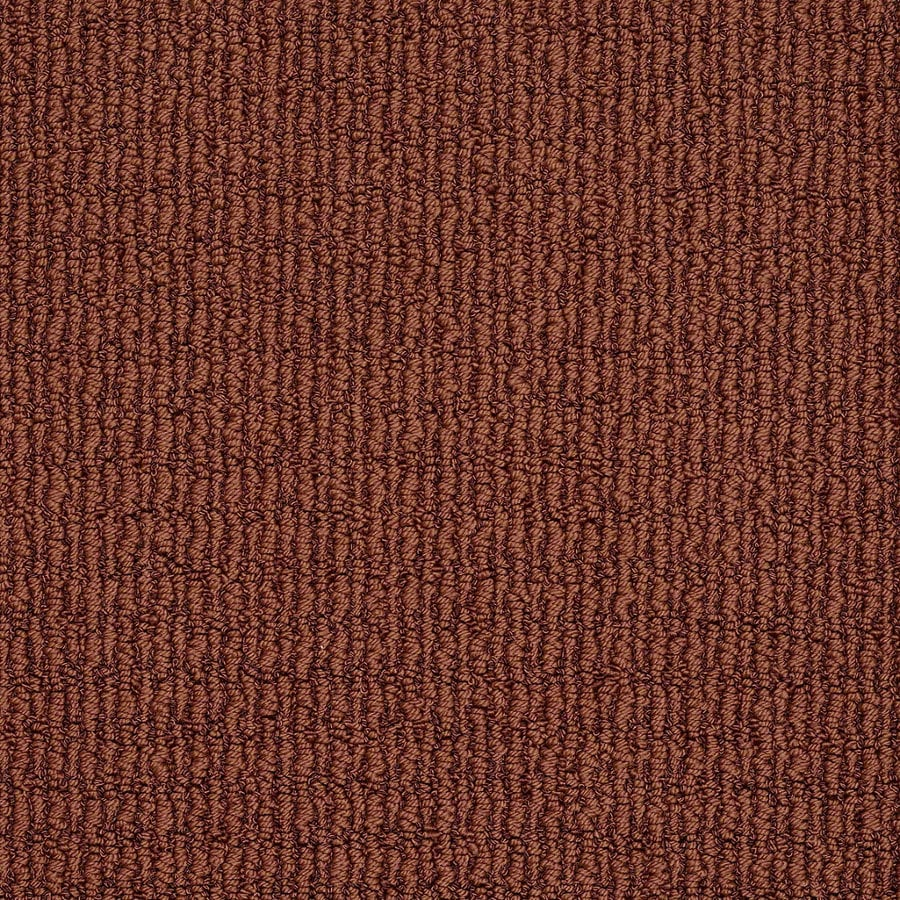 STAINMASTER TruSoft Uneqivocal Crimson Berber Indoor Carpet