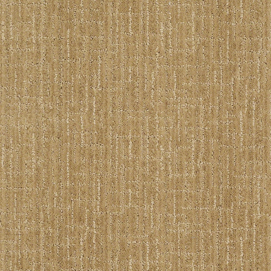 STAINMASTER Active Family Unquestionable Eggnog Berber Indoor Carpet