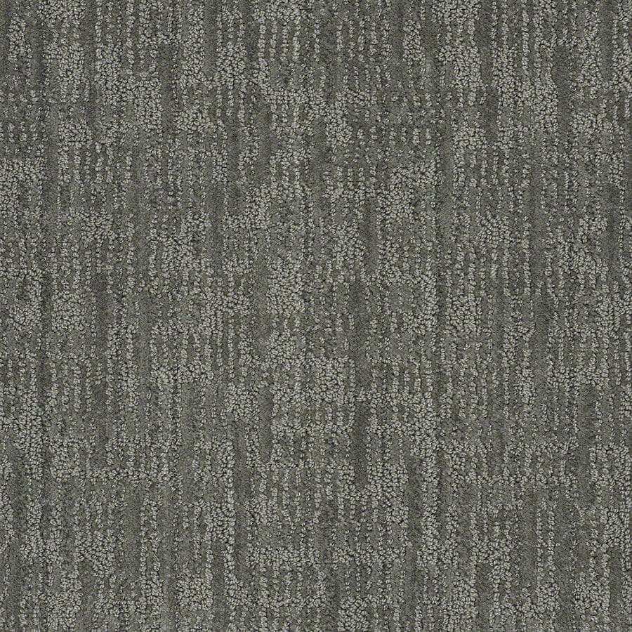 STAINMASTER Active Family Unmistakable Blue Agave Berber Indoor Carpet