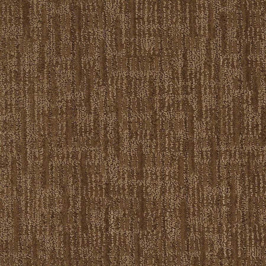 STAINMASTER Active Family Unmistakable Almond Crunch Berber Indoor Carpet