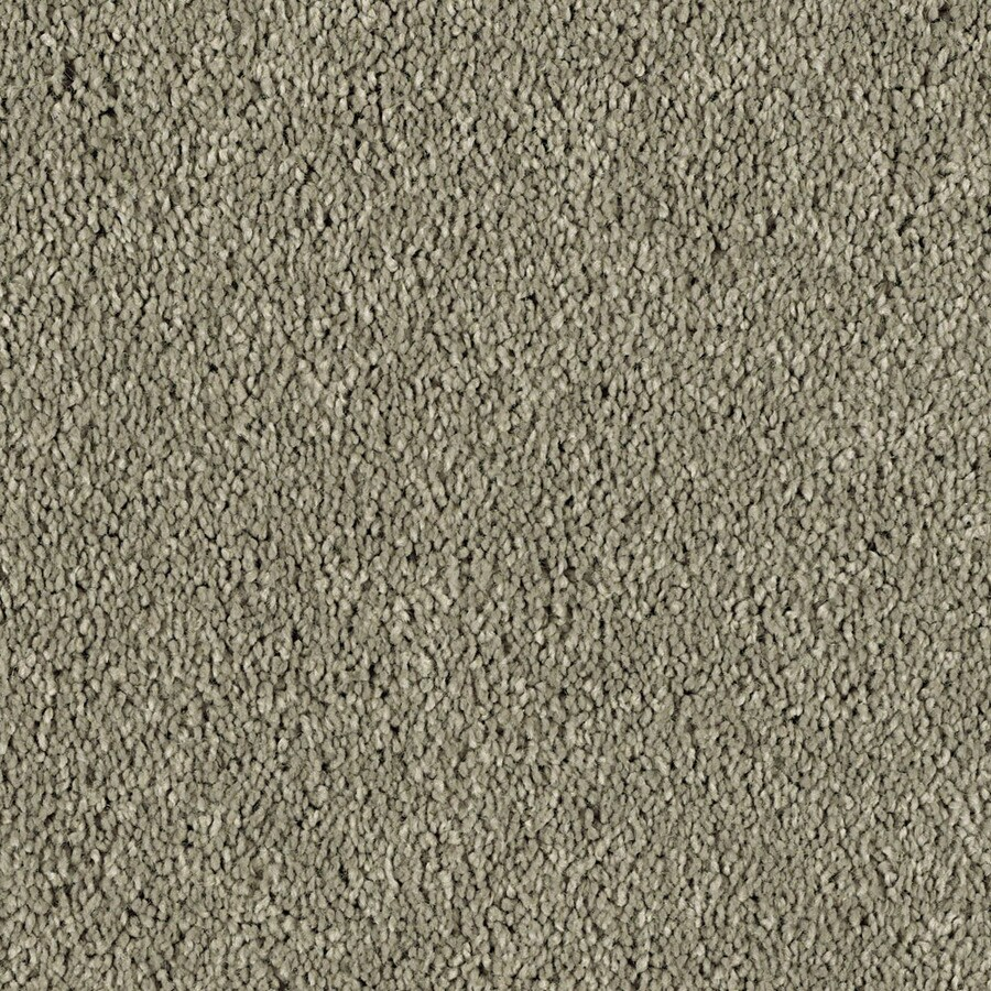 STAINMASTER Essentials Soft and Cozy 3 Taupe Stone Textured Indoor Carpet