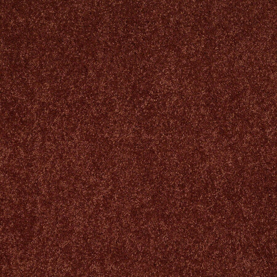 Shaw Supreme Delight 3 Chili Rectangular Indoor Tufted Area Rug (Common: 8 x 11; Actual: 96-in W x 132-in L)