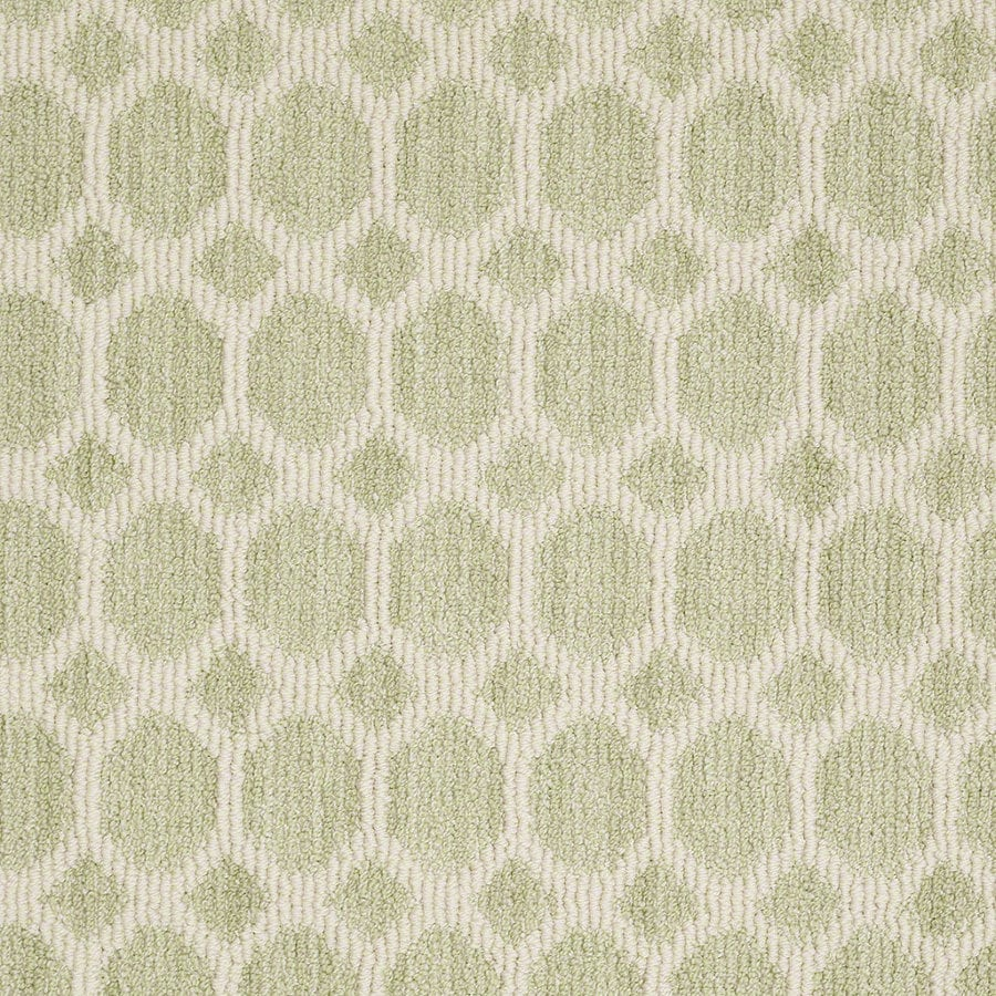 Shaw All The Rage Glen Green Rectangular Indoor Tufted Area Rug (Common: 8 x 11; Actual: 96-in W x 132-in L)