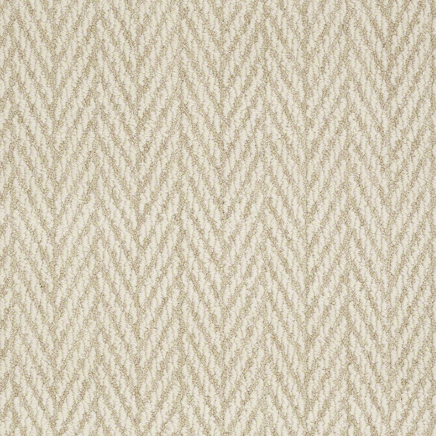 Shaw Apparent Beauty Whisper Rectangular Indoor Tufted Area Rug (Common: 6 x 9; Actual: 72-in W x 108-in L)