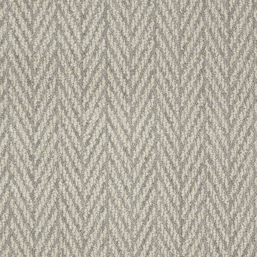 Shaw Apparent Beauty Silverado Rectangular Indoor Tufted Area Rug (Common: 6 x 9; Actual: 72-in W x 108-in L)