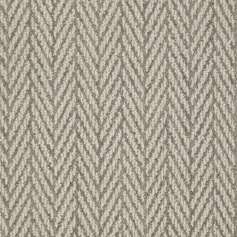 Shaw Apparent Beauty Atmosphere Rectangular Indoor Tufted Area Rug (Common: 6 x 9; Actual: 72-in W x 108-in L)