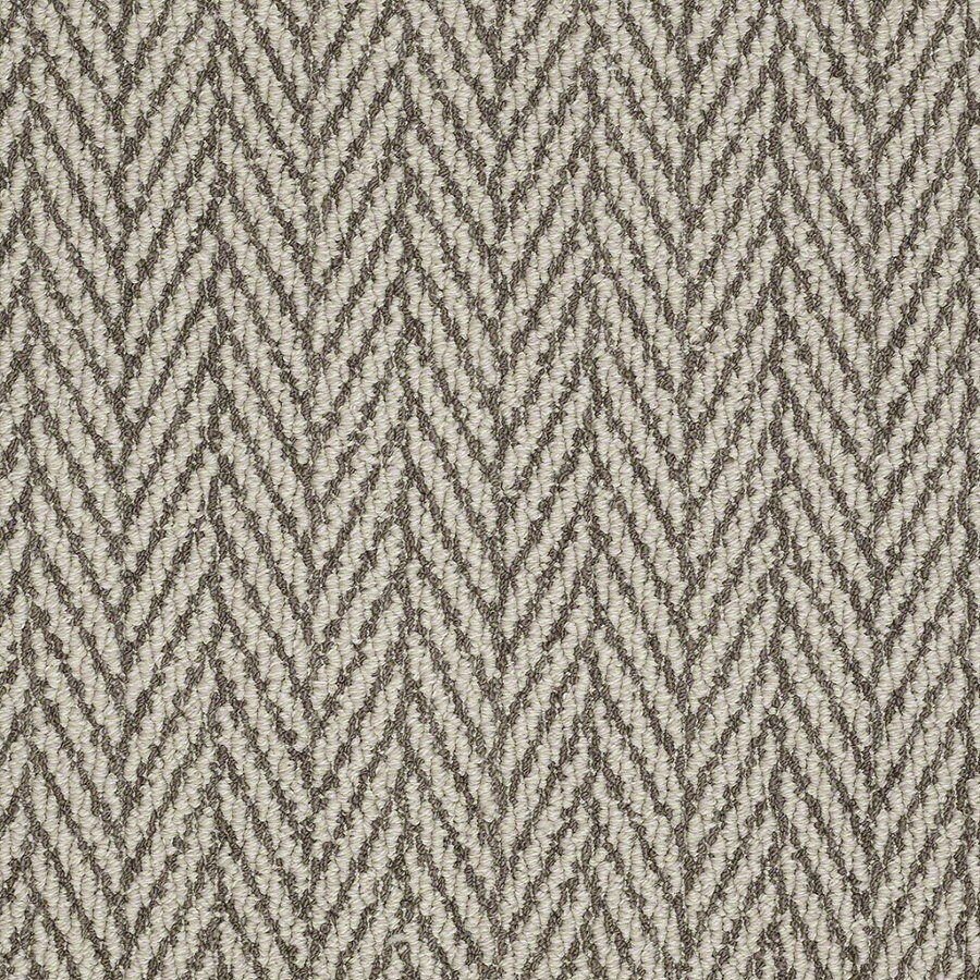Shaw Apparent Beauty Windsor Gray Rectangular Indoor Tufted Area Rug (Common: 6 x 9; Actual: 72-in W x 108-in L)