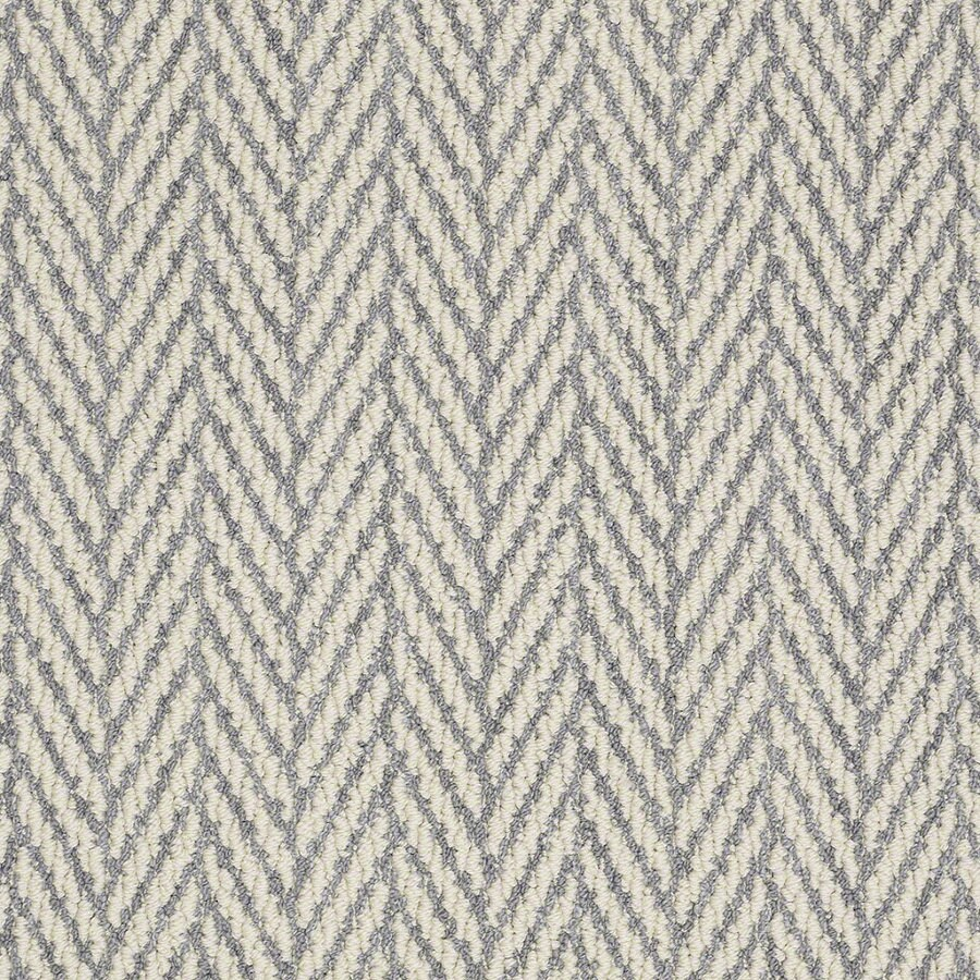 Shaw Apparent Beauty Violet Rectangular Indoor Tufted Area Rug (Common: 8 x 11; Actual: 96-in W x 132-in L)