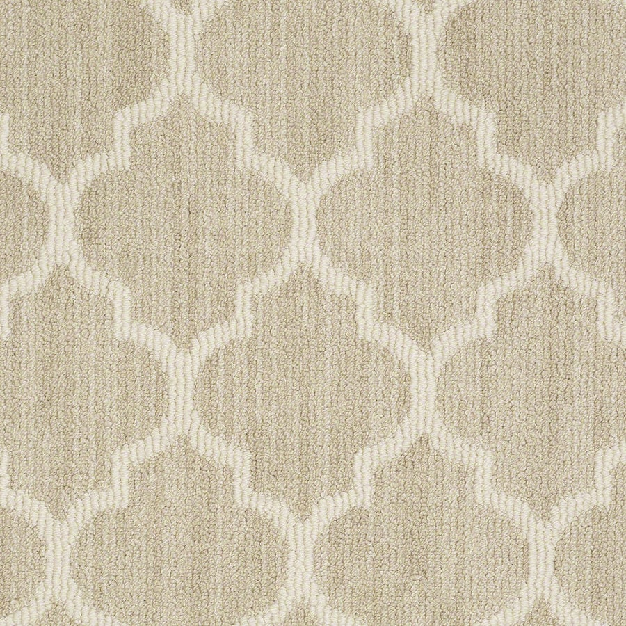 Shaw Rave Review Whisper Rectangular Indoor Tufted Area Rug (Common: 8 x 11; Actual: 96-in W x 132-in L)