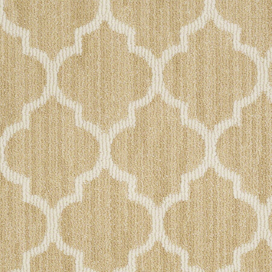 Shaw Rave Review Fresh Citrus Rectangular Indoor Tufted Area Rug (Common: 8 x 11; Actual: 96-in W x 132-in L)