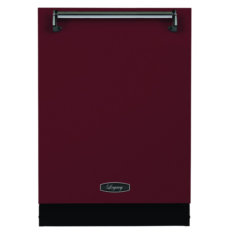 AGA Legacy 51-Decibel Built-In Dishwasher (Cranberry) (Common: 24-in; Actual: 23.875-in)