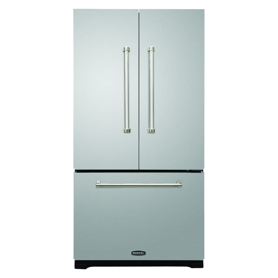 Shop aga professional legacy 19 6 cu ft counter depth for 19 6 cu ft french door refrigerator