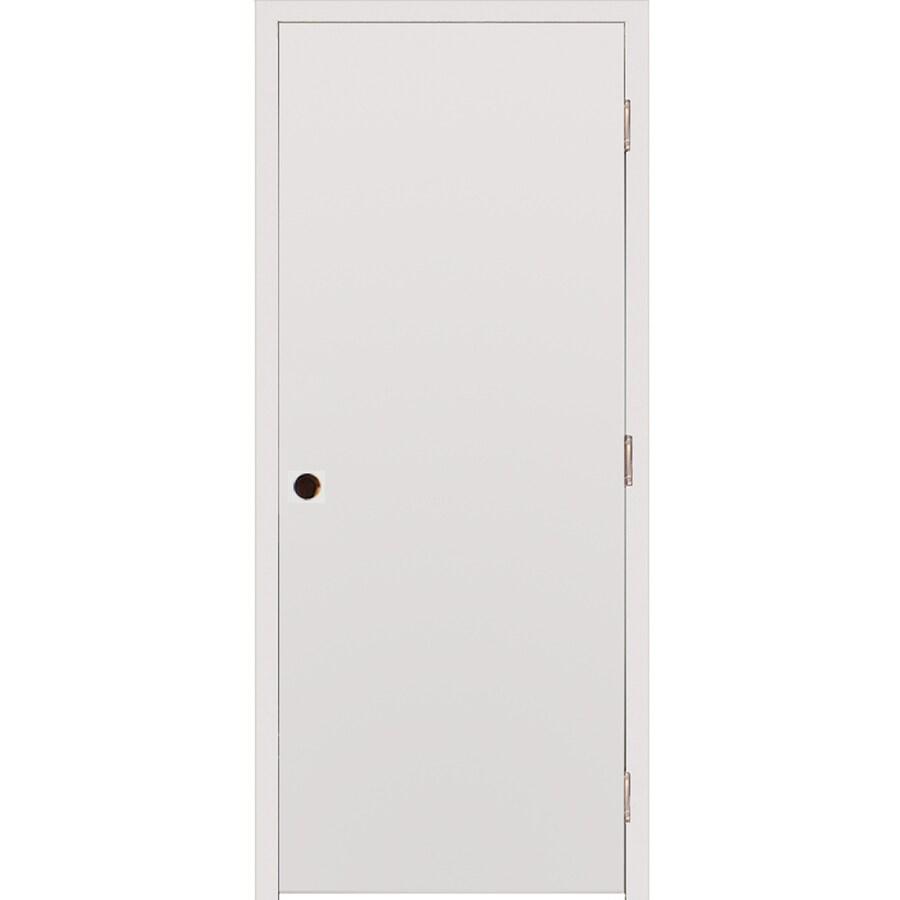 Milliken Millwork Primed Steel Surface Mount Security Door (Common: 32-in x 80-in; Actual: 34-in x 82.25-in)