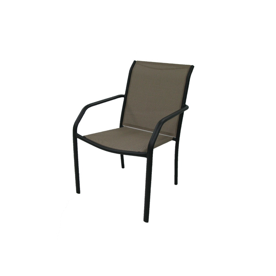 Garden Treasures Driscol Copper Sling Steel Patio Dining Chair