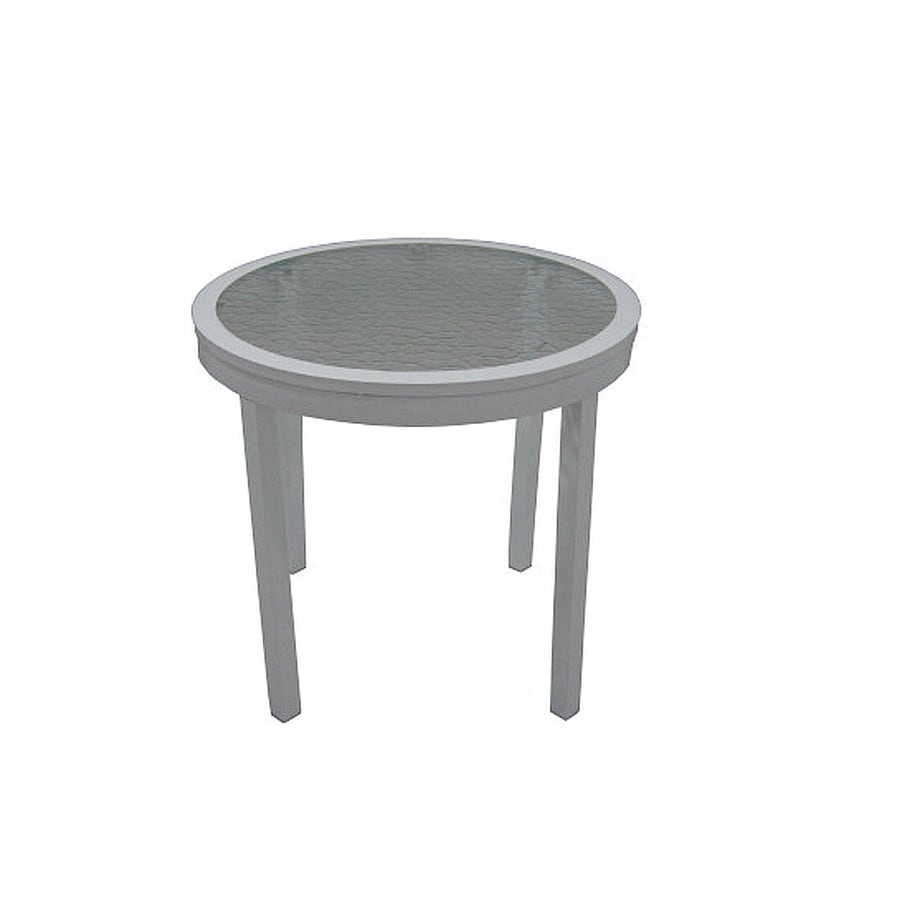 Garden Treasures Bluestone River Round End Table