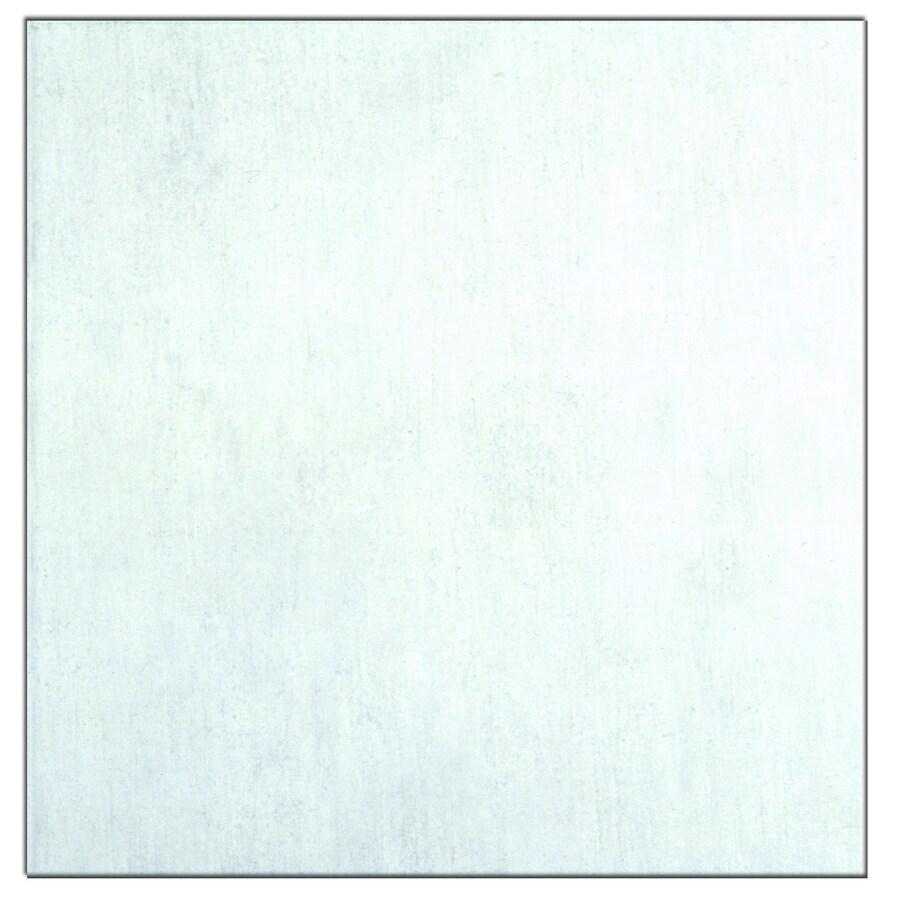 Interceramic Aquarelle 10-Pack Shadow Gray Ceramic Floor Tile (Common: 16-in x 16-in; Actual: 15.74-in x 15.74-in)