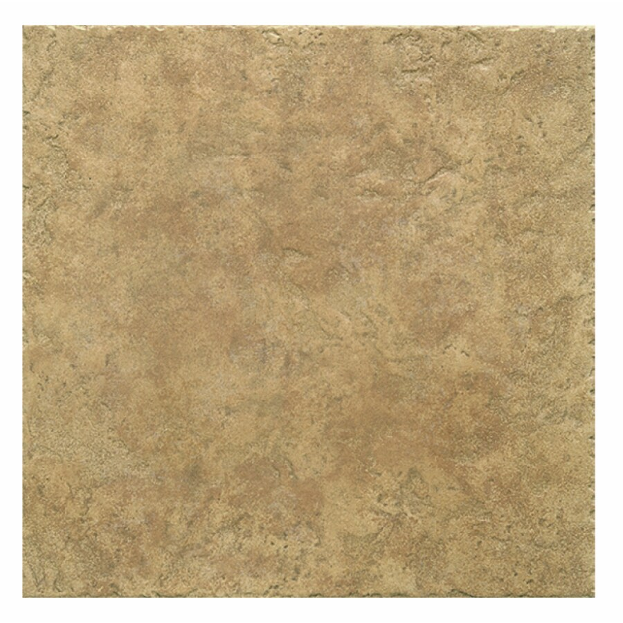 Interceramic 16-Pack 12-in x 12-in Creekstone Noce Ceramic Floor Tile