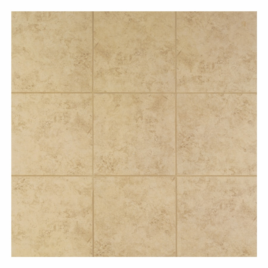 Interceramic 14-Pack Puebla Jaspe Noce Glazed Porcelain Indoor/Outdoor Floor Tile (Common: 13-in x 13-in; Actual: 13-in x 13-in)