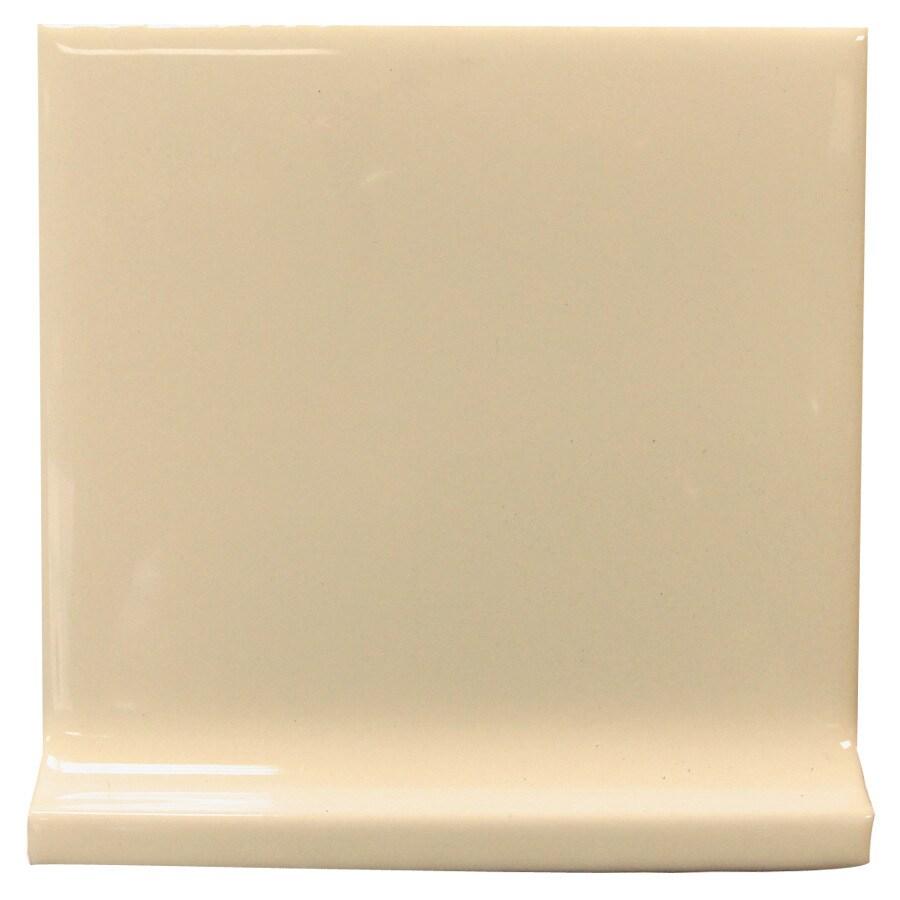 Interceramic Tender Tan Ceramic Cove Base Tile (Common: 4-in x 4-in; Actual: 4.24-in x 4.24-in)