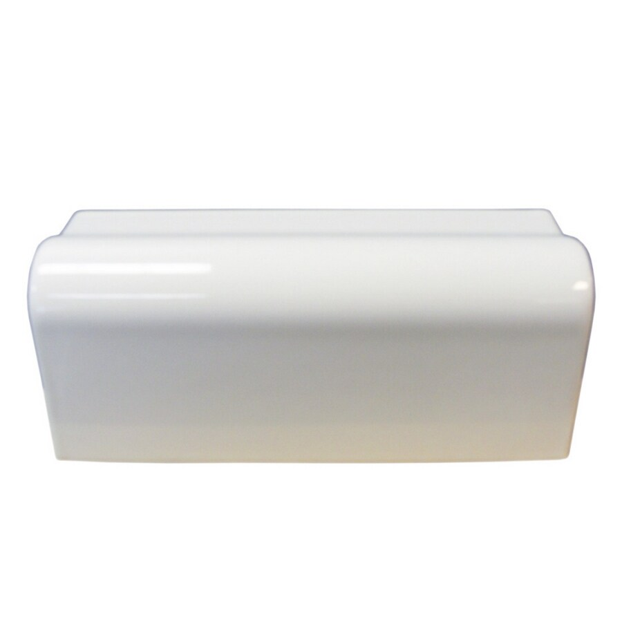 Interceramic Wall Tile White Ceramic Chair Rail Tile (Common: 2-1/2-in x 6-in; Actual: 2.13-in x 6-in)