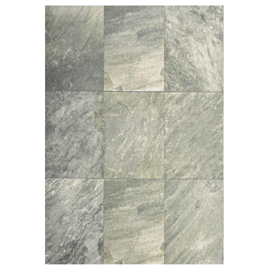 Interceramic Imperial Quartz 6-Pack Silver Ceramic Floor Tile (Common: 16-in x 24-in; Actual: 15.74-in x 23.6-in)