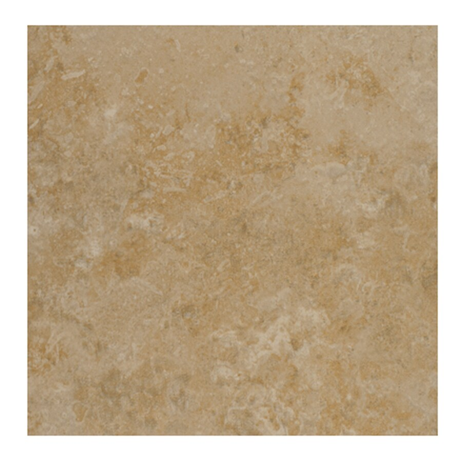 Interceramic Pinot Beige Ceramic Floor Tile (Common: 20-in x 20-in; Actual: 19.63-in x 19.63-in)