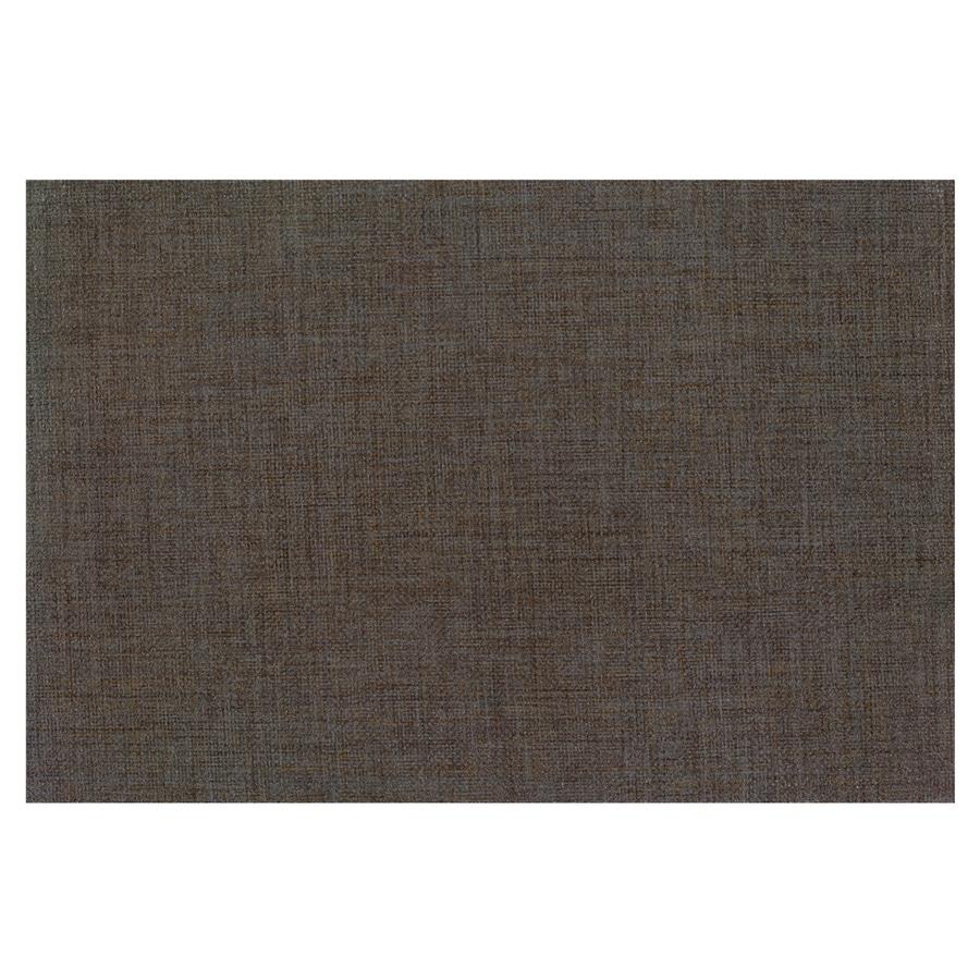 Interceramic Tessuto 32-Pack Basalto Black Ceramic Wall Tile (Common: 4-in x 8-in; Actual: 4.24-in x 8.54-in)