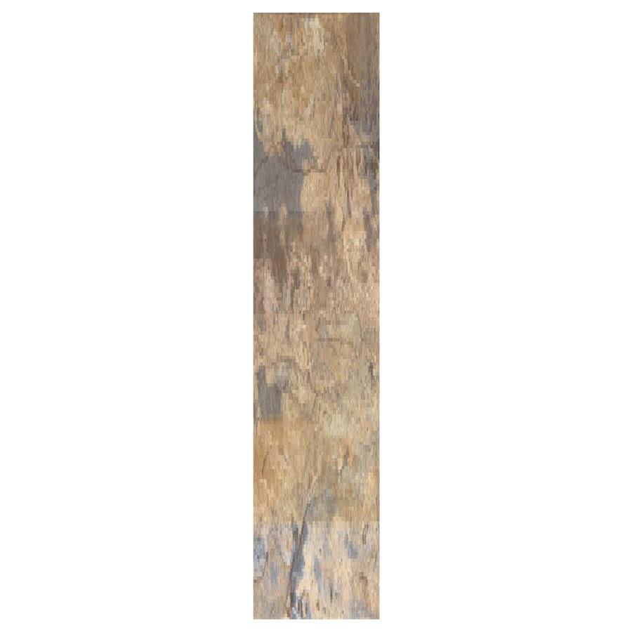 Interceramic Planks 1.0 12-Pack Autumn Ceramic Floor Tile (Common: 5-in x 24-in; Actual: 4.92-in x 23.6-in)