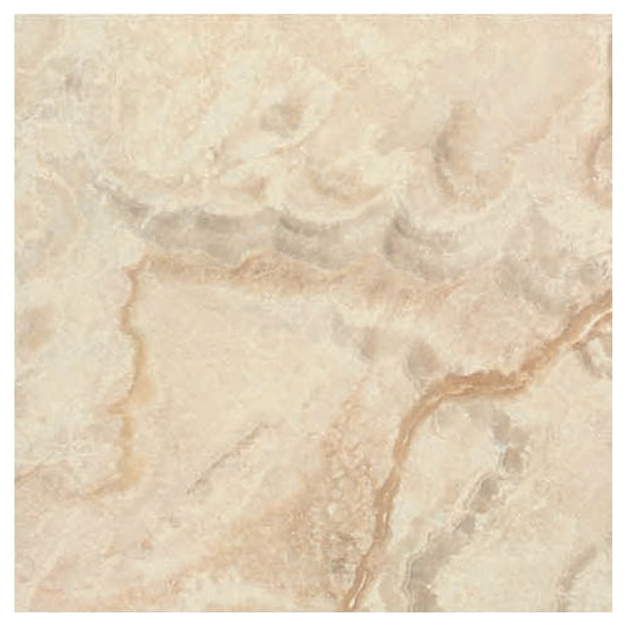 Interceramic La Travonya 6-Pack Natural Porcelain Floor Tile (Common: 20-in x 20-in; Actual: 19.31-in x 19.31-in)