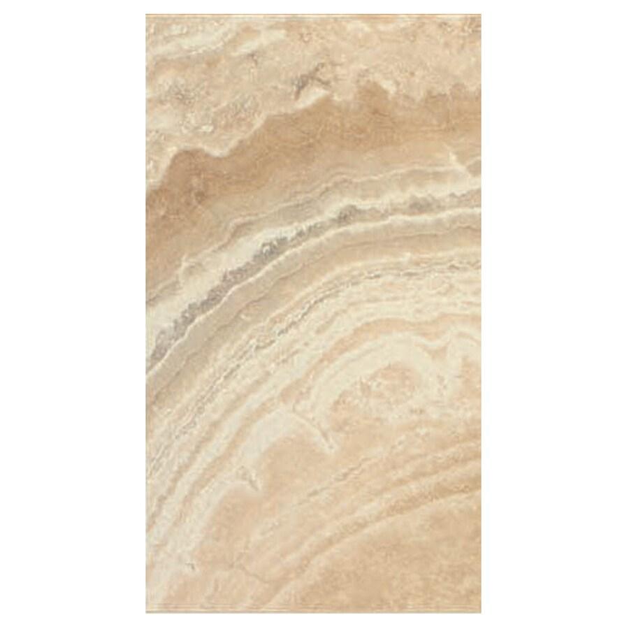 Interceramic La Travonya 8-Pack Natural Porcelain Floor Tile (Common: 10-in x 20-in; Actual: 9.63-in x 19.31-in)