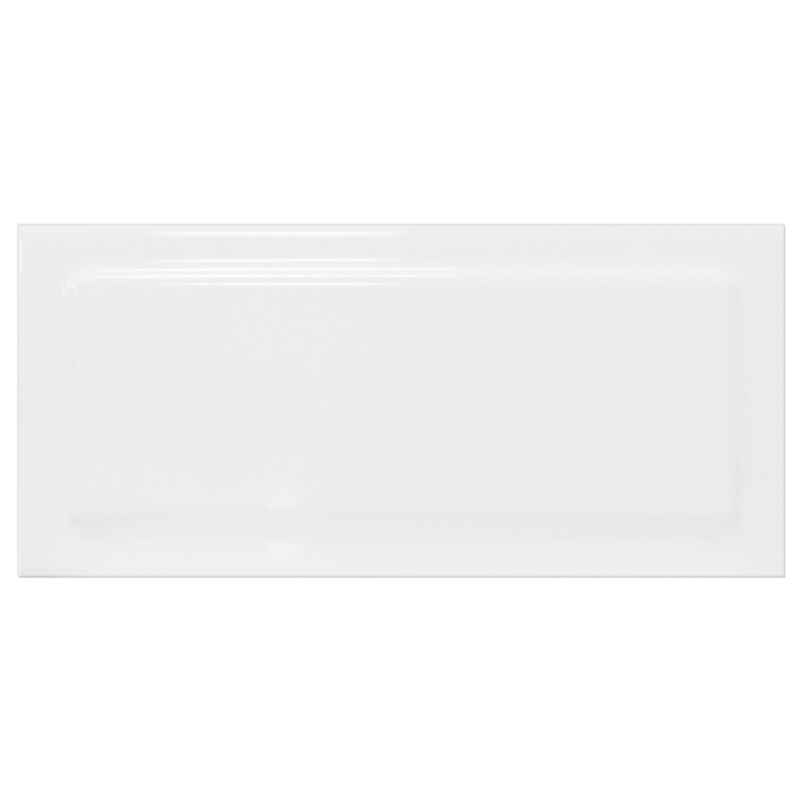 Interceramic Up and Down 62-Pack White Up Ceramic Wall Tile (Common: 3-in x 6-in; Actual: 2.95-in x 6-in)