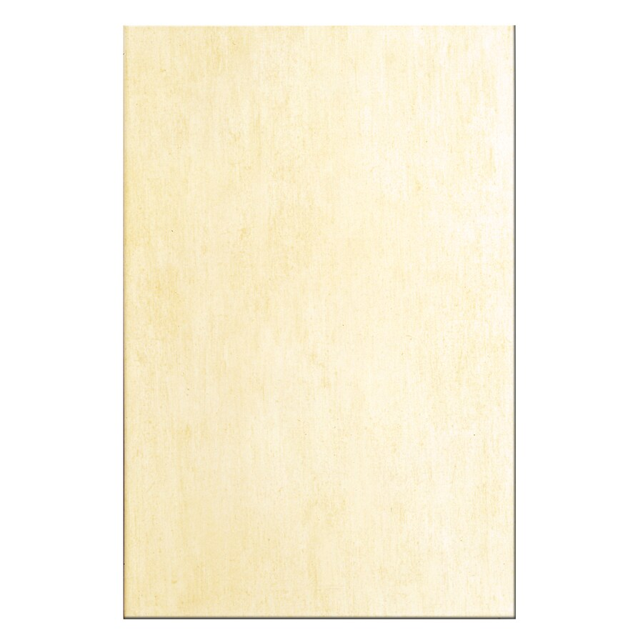 Interceramic Aquarelle 12-Pack Naples Ivory Ceramic Wall Tile (Common: 10-in x 20-in; Actual: 9.84-in x 19.66-in)
