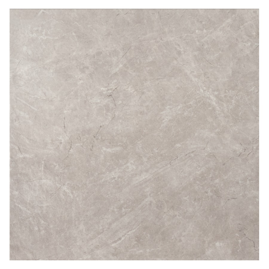 Interceramic Torino Gray Ceramic Floor Tile (Common: 16-in x 16-in; Actual: 15.74-in x 15.74-in)