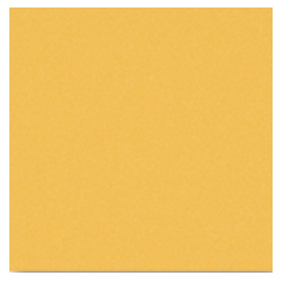 Interceramic Wall 80-Pack Goldenrod Ceramic Wall Tile (Common: 4-in x 4-in; Actual: 4.24-in x 4.24-in)