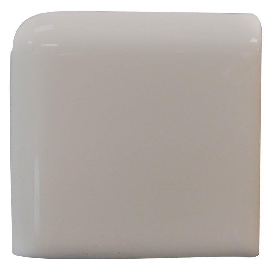 Interceramic Dark Gray Ceramic Bullnose Tile (Common: 2-in x 2-in; Actual: 2-in x 2-in)