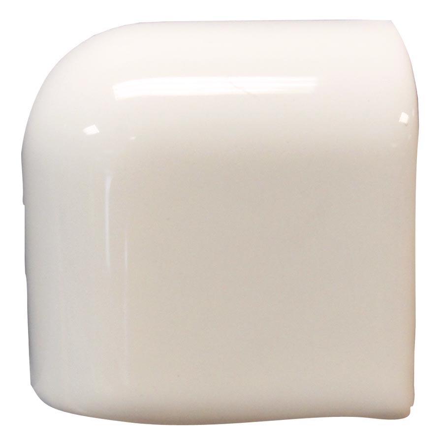 Interceramic Smoke Ceramic Mud Cap Corner Tile (Common: 2-in x 2-in; Actual: 2-in x 2-in)
