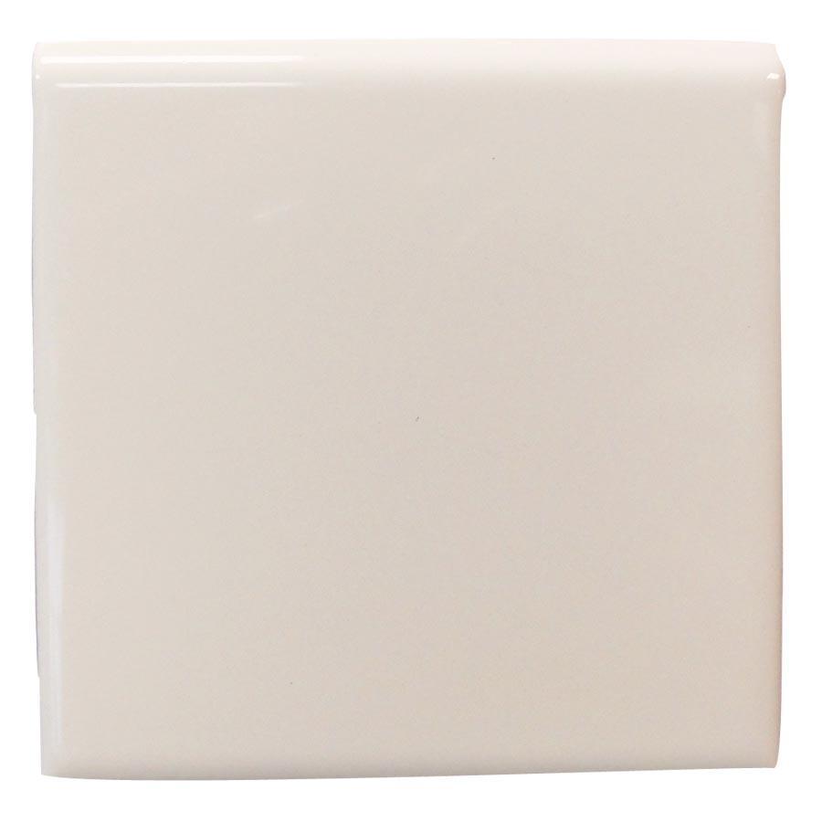 Interceramic Smoke Ceramic Bullnose Tile (Common: 4-in x 4-in; Actual: 4.24-in x 4.24-in)
