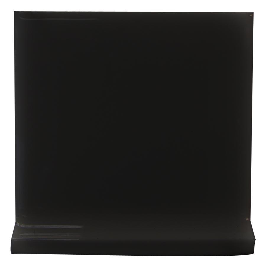 Interceramic Black Ceramic Cove Base Tile (Common: 4-in x 4-in; Actual: 4.24-in x 4.24-in)