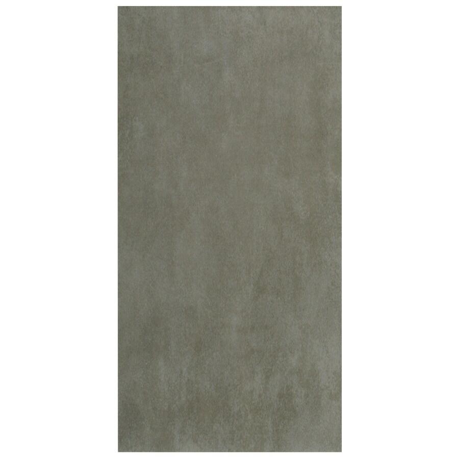 Interceramic Concrete 8-Pack Light Gray Porcelain Floor Tile (Common: 12-in x 24-in; Actual: 11.81-in x 23.63-in)