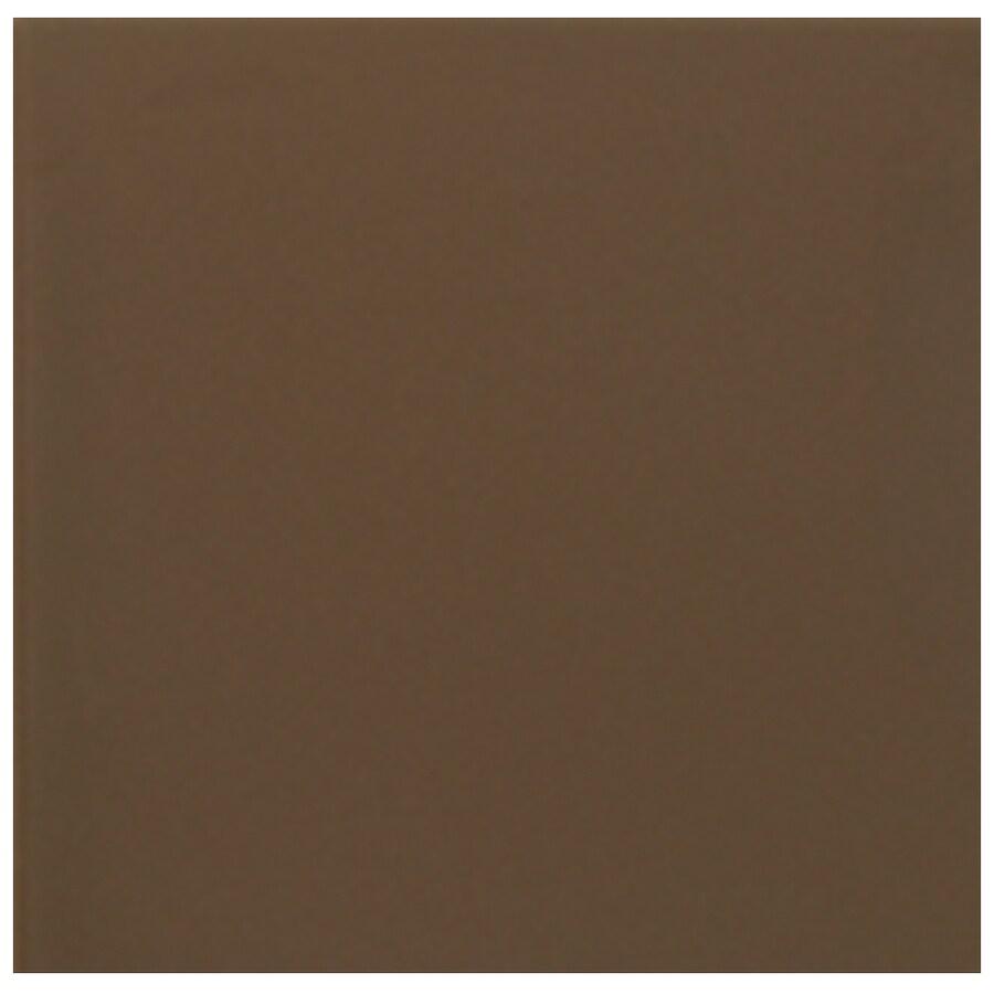 Interceramic Wall 40-Pack Brown Kiss Ceramic Wall Tile (Common: 6-in x 6-in; Actual: 6.01-in x 6.01-in)