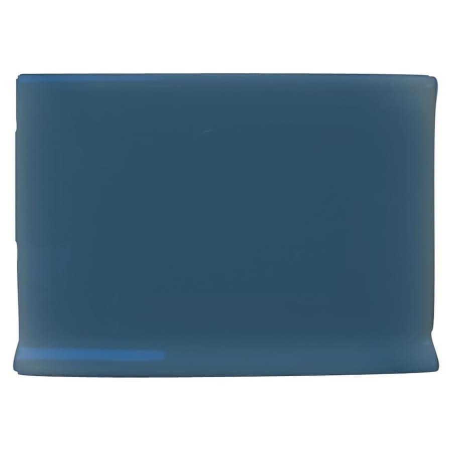 Interceramic Colonial Blue Ceramic Cove Base Tile (Common: 4-in x 6-in; Actual: 4.25-in x 6-in)