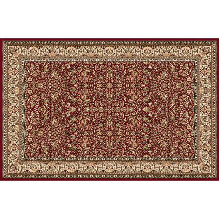 Home Dynamix Vienna Red Rectangular Indoor Woven Area Rug (Common: 8 x 10; Actual: 94-in W x 122-in L)